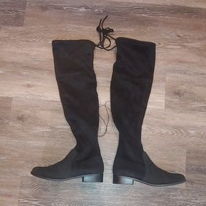 5fee2b1e150 A New Day Black Over the Knee Boots. Size 7.5 NWT